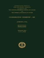Coordination Chemistry—XIV
