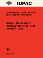 Redox Indicators. Characteristics and Applications
