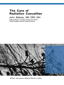 The Care of Radiation Casualties