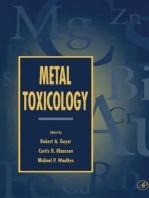 Metal Toxicology