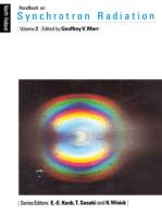 Handbook on Synchrotron Radiation
