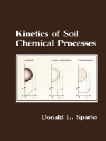 Kinetics of Soil Chemical Processes