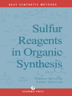 Sulfur Reagents in Organic Synthesis