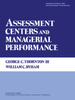 Assessment Centers and Managerial Performance