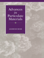 Advances in Particulate Materials
