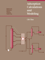 Adsorption Calculations and Modelling