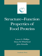 Structure-Function Properties of Food Proteins