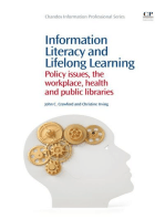 Information Literacy and Lifelong Learning: Policy Issues, the Workplace, Health and Public Libraries
