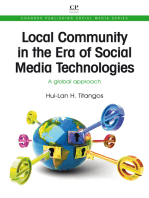 Local Community in the Era of Social Media Technologies