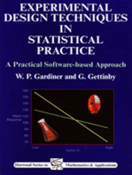 Experimental Design Techniques in Statistical Practice