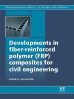 Developments in Fiber-Reinforced Polymer (FRP) Composites for Civil Engineering