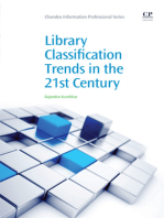 Library Classification Trends in the 21st Century