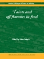 Taints and Off-Flavours in Foods