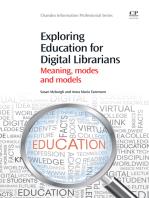 Exploring Education for Digital Librarians