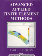 Advanced Applied Finite Element Methods