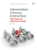 Information Literacy Instruction: Selecting an Effective Model