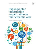 Bibliographic Information Organization in the Semantic Web