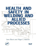 Health and Safety in Welding and Allied Processes
