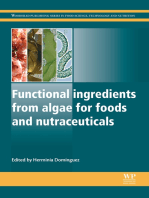 Functional Ingredients from Algae for Foods and Nutraceuticals