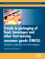 Trends in Packaging of Food, Beverages and Other Fast-Moving Consumer Goods (FMCG)