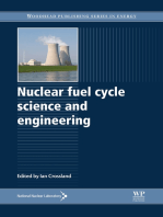 Nuclear Fuel Cycle Science and Engineering