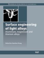 Surface Engineering of Light Alloys: Aluminium, Magnesium and Titanium Alloys