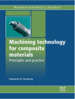 Machining Technology for Composite Materials