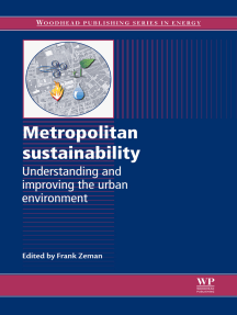 Metropolitan Sustainability: Understanding and Improving the Urban Environment