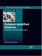 Polymer Modified Bitumen: Properties and Characterisation