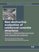 Non-Destructive Evaluation of Reinforced Concrete Structures: Deterioration Processes and Standard Test Methods