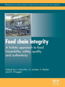 Food Chain Integrity: A Holistic Approach to Food Traceability, Safety, Quality and Authenticity