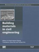 Building Materials in Civil Engineering