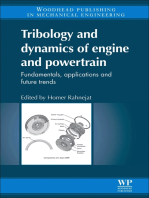 Tribology and Dynamics of Engine and Powertrain