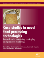Case Studies in Novel Food Processing Technologies