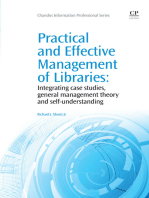 Practical and Effective Management of Libraries