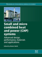 Small and Micro Combined Heat and Power (CHP) Systems
