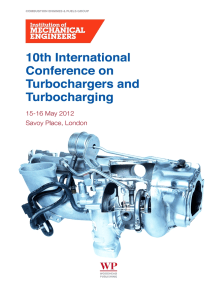 10th International Conference on Turbochargers and Turbocharging