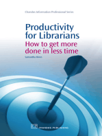 Productivity for Librarians