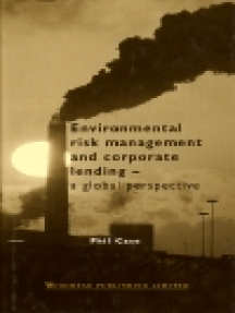 Environmental Risk Management and Corporate Lending: A Global Perspective