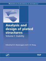 Analysis and Design of Plated Structures: Stability