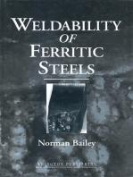 Weldability of Ferritic Steels