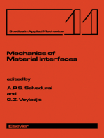 Mechanics of Material Interfaces