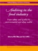 Auditing in the Food Industry: From Safety and Quality to Environmental and Other Audits