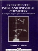 Experimental Inorganic/Physical Chemistry