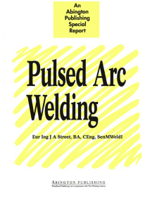 Pulsed Arc Welding: An Introduction