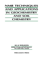 NMR Techniques & Applications in Geochemistry & Soil Chemistry