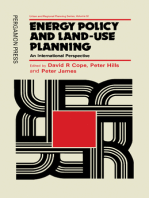 Energy Policy and Land-Use Planning