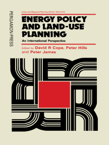 Energy Policy and Land-Use Planning: An International Perspective