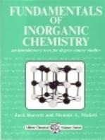 Fundamentals of Inorganic Chemistry