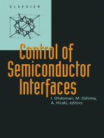 Control of Semiconductor Interfaces